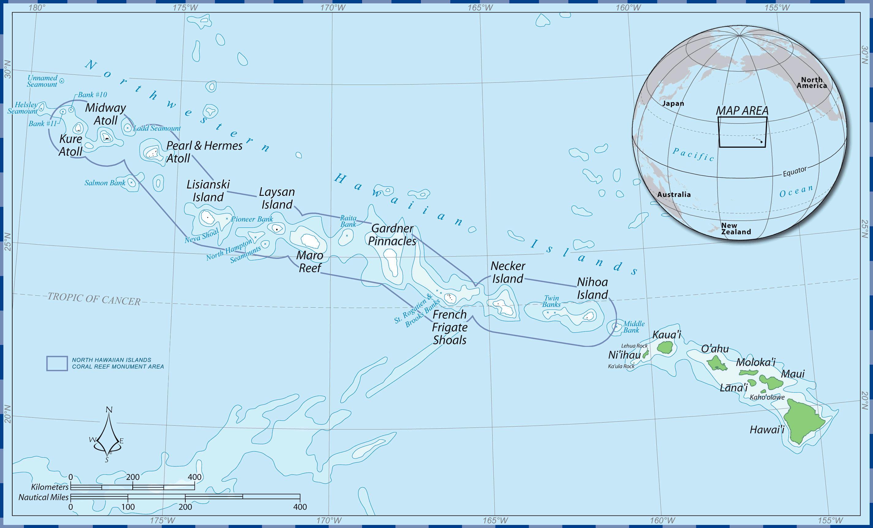 Papahanaumokuakea original designation Wikipedia commons
